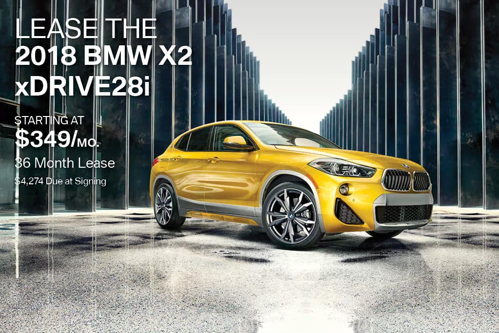 New 2018 BMW X2 Lease Offer BMW of Bayside