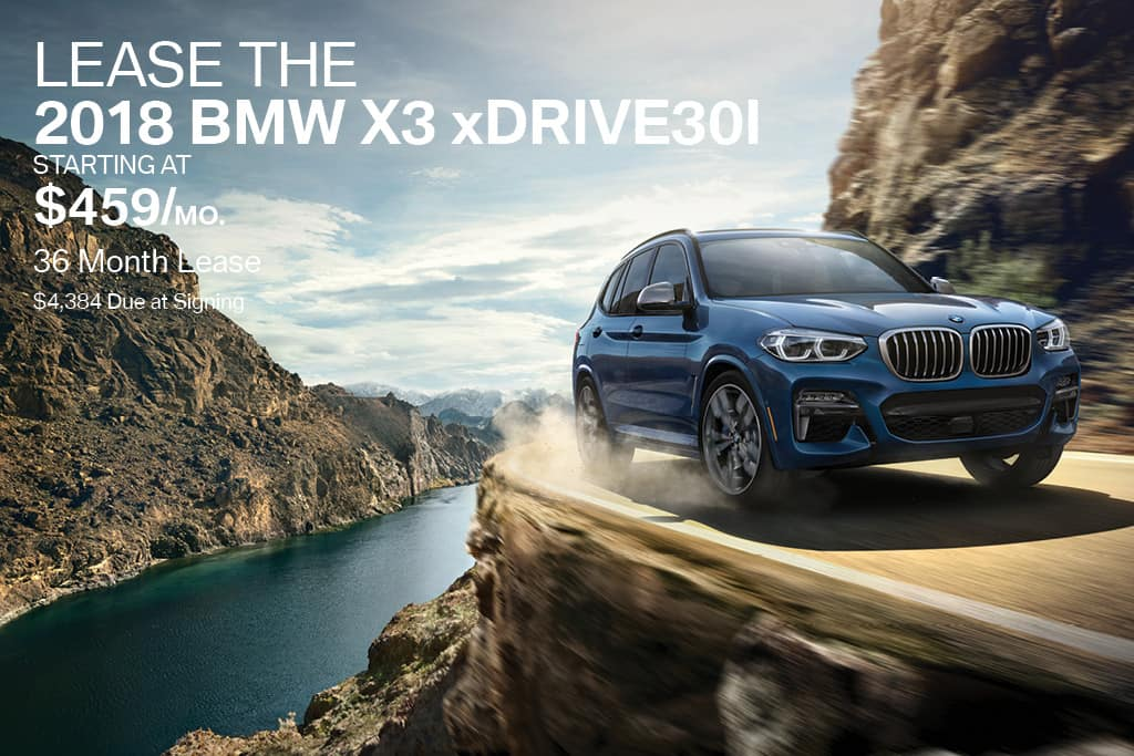 New 2018 BMW X3 Lease Offer BMW of Bayside