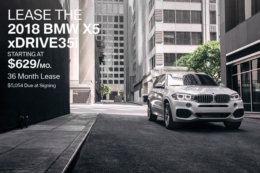 New 2018 BMW X5 Lease Offer BMW of Bayside