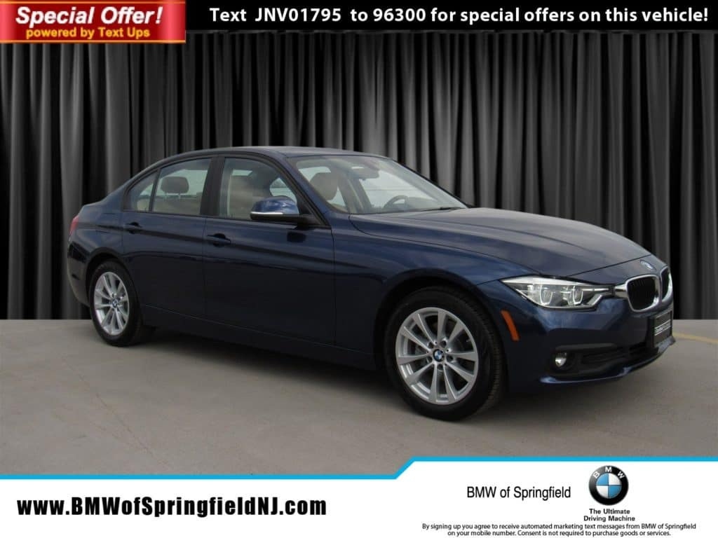 Certified Pre-Owned 2018 BMW 3 Series 320i xDrive AWD Loaner