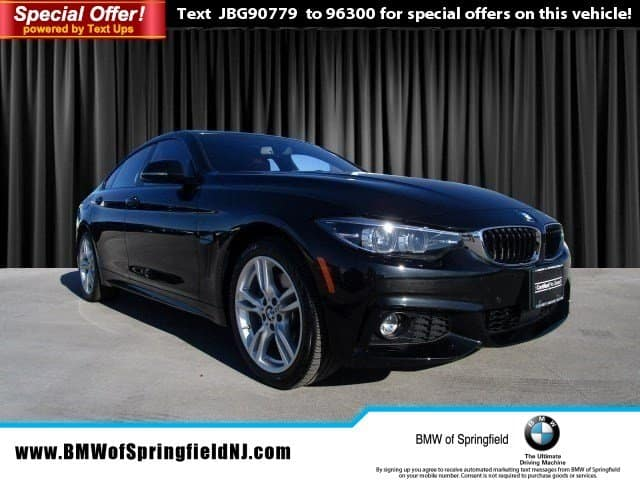 Certified Pre-Owned 2018 BMW 4 Series 430i xDrive AWD Loaner