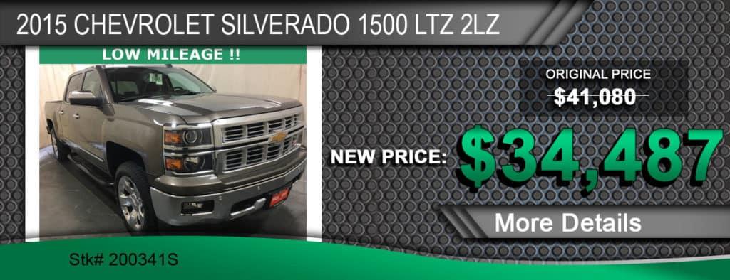 2015 Chevrolet Silverado 1500 LTZ 2LZ
