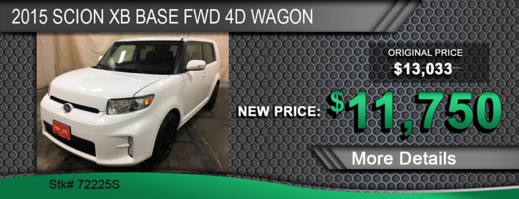 2015 Scion XB Base FWD 4D Wagon