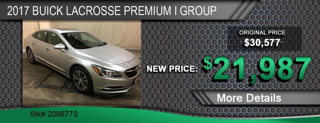 2017 Buick LaCrosse Premium I Group