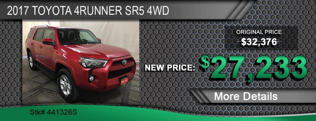 2017 Toyota 4Runner SR5 4WD