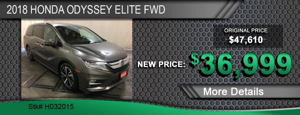 2018 Honda Odyssey Elite FWD