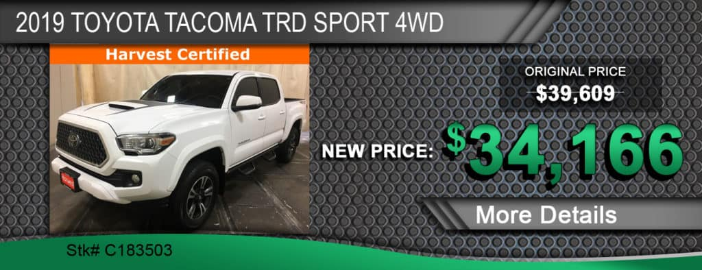 2019 Toyota Tacoma TRD Sport 4WD