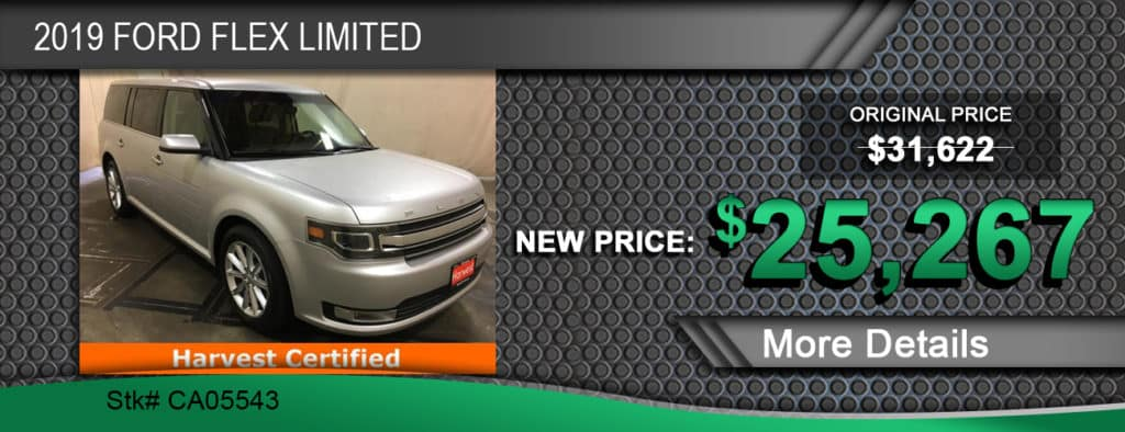 $25,267 Offer on a Used 2019 Ford Flex Limited