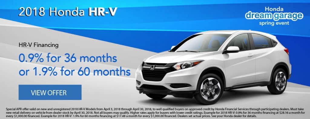 2018 Honda HR-V Financing