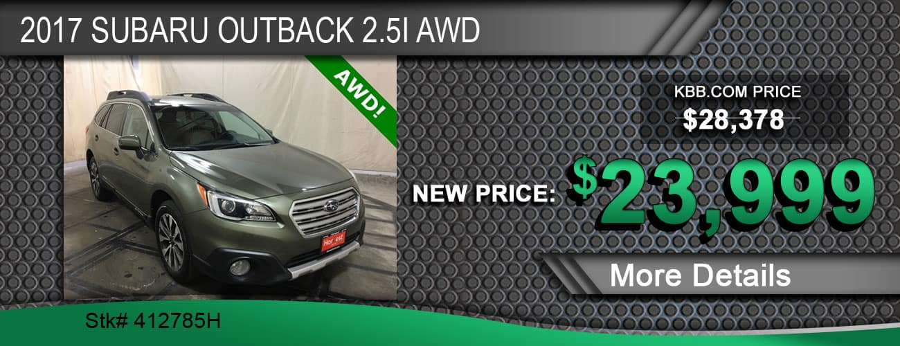 2017 Subaru Outback 2.5i AWD