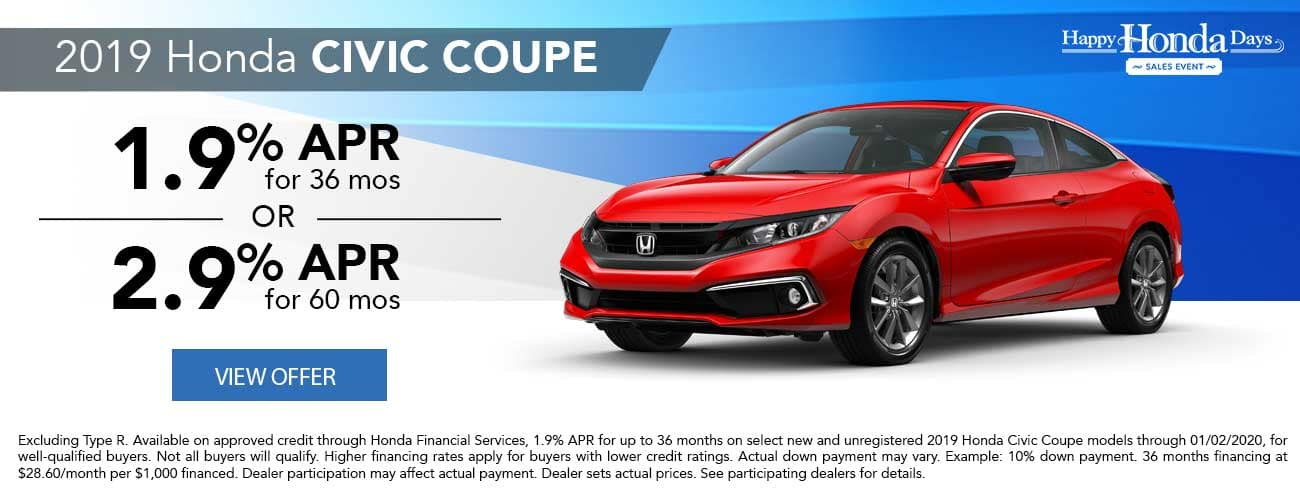 2019 Honda Civic Coupe APR Special