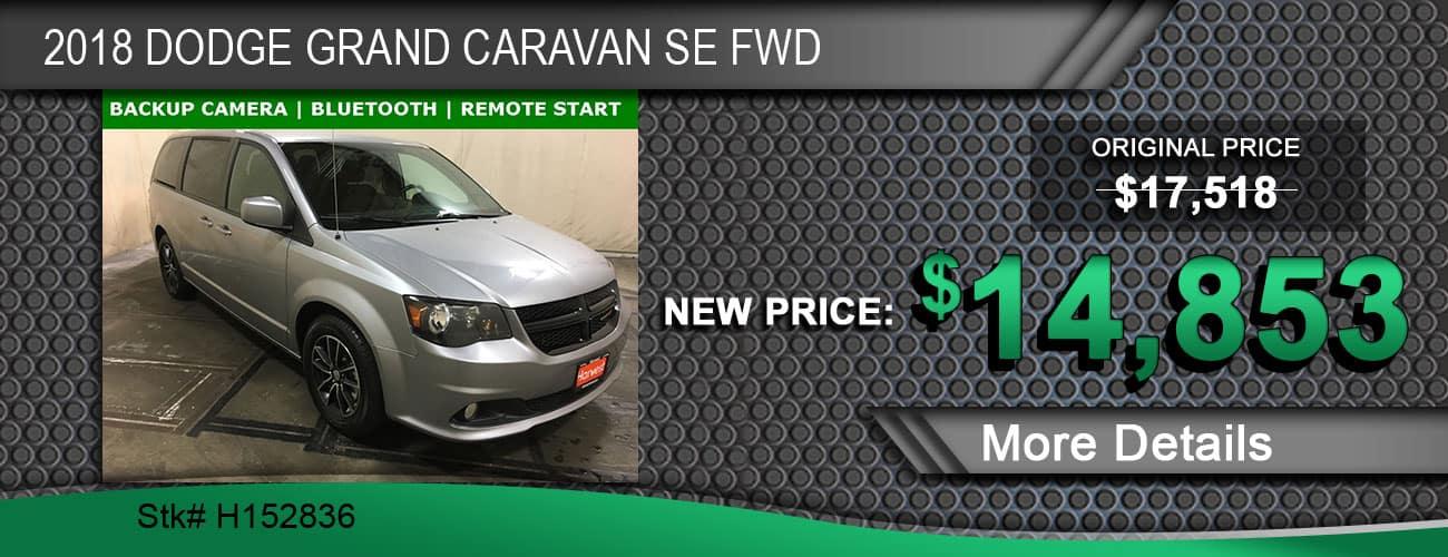 $14,853 Offer on 2018 Dodge Grand Caravan SE FWD