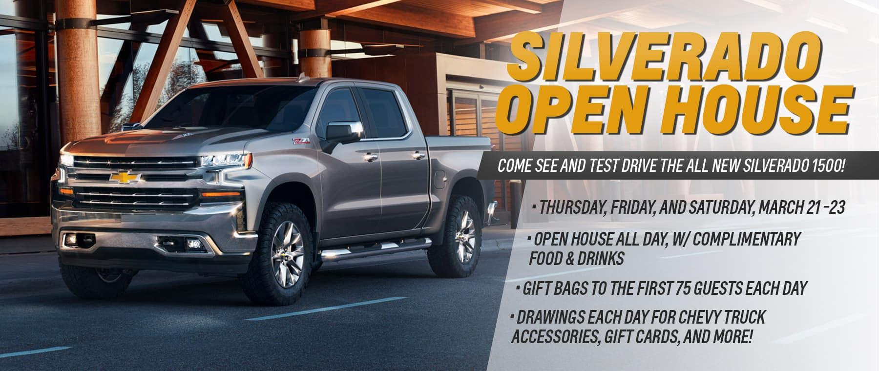 Silverado Open House