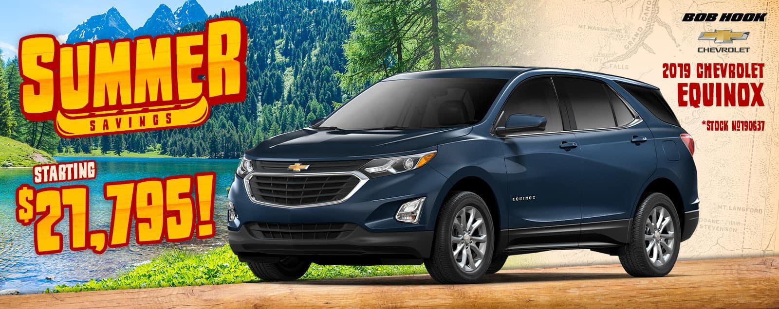 2019 Chevrolet Equinox Deals & Sales