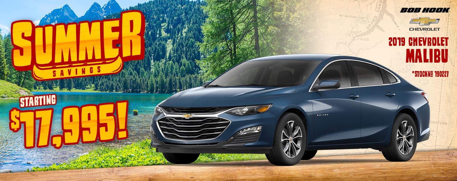 2019 Chevrolet Malibu Deals & Sales