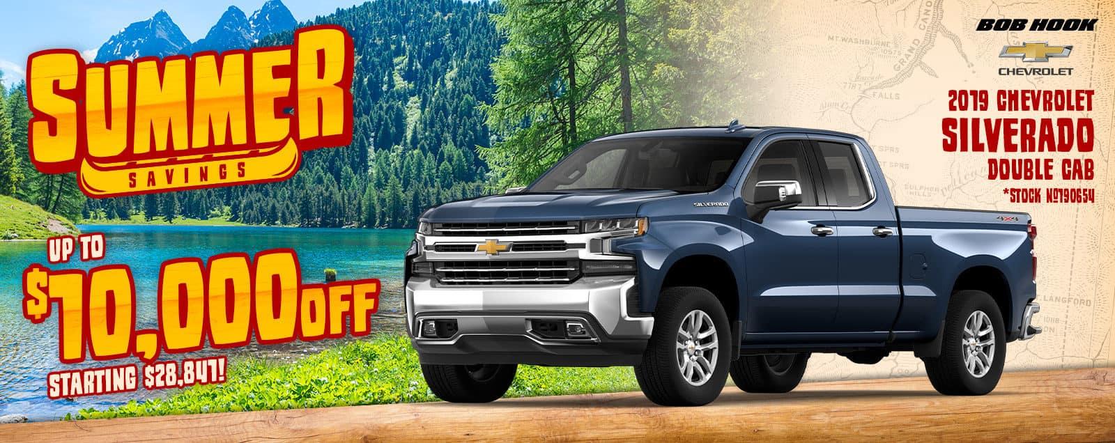 2019 Chevrolet Silverado Deals & Sales