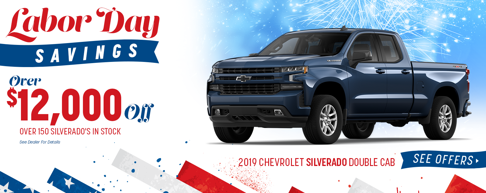2019 Silverado - Labor Day Sale