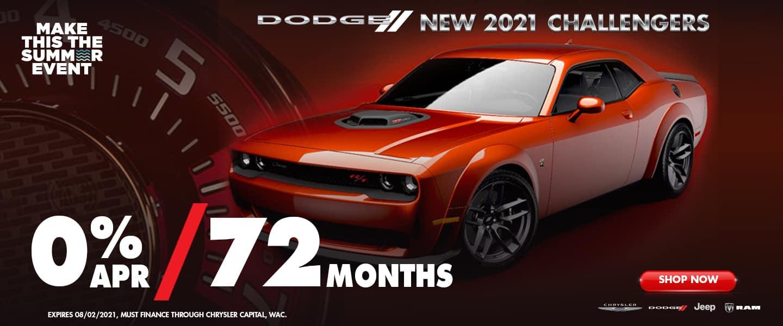 Dodge New 2021 Challengers