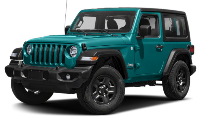Teal 2020 Jeep Wrangler Rubicon
