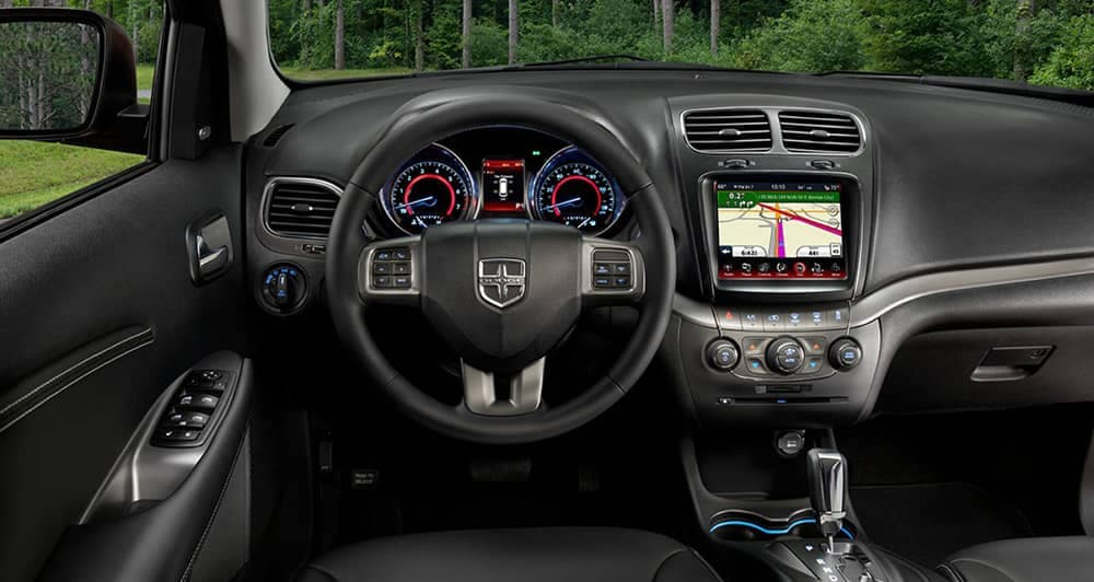 2018 Dodge Journey dashboard