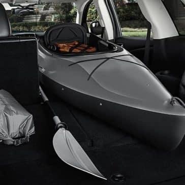 2018 Dodge Journey folding rear seats