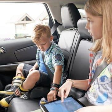 2018 Dodge Journey rear seats