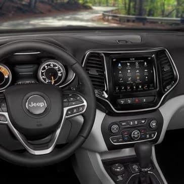 2019 Jeep Cherokee dashboard