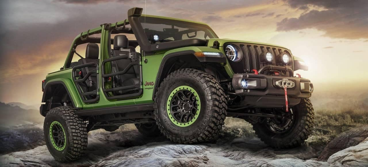 2018 Jeep Wrangler JL with accessories