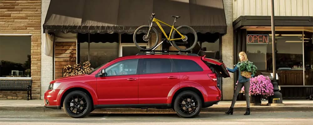 2019 Dodge Journey With Bike