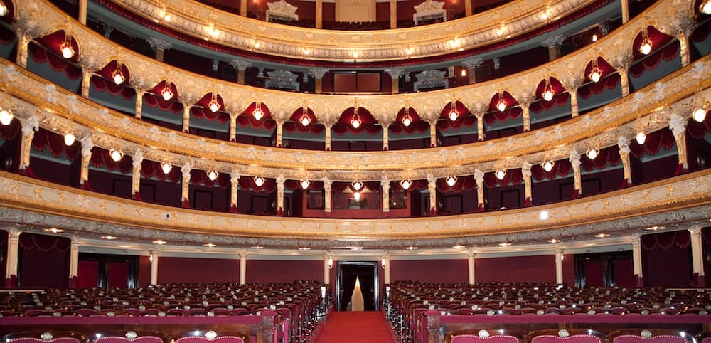 Interior of Opera House