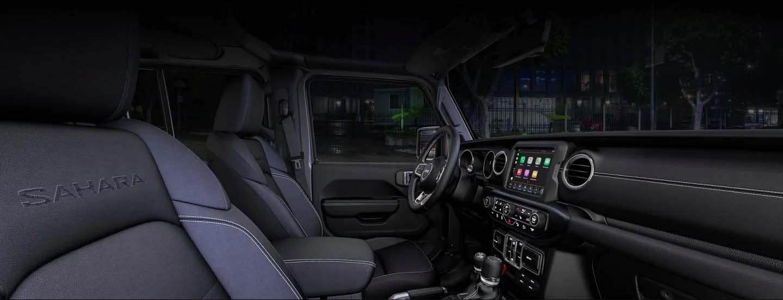 2019 Wrangler Interior