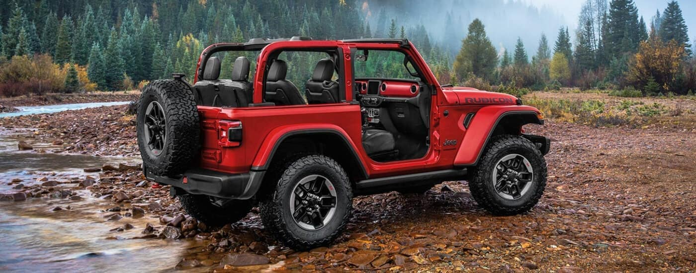 red 2020 Jeep Wrangler