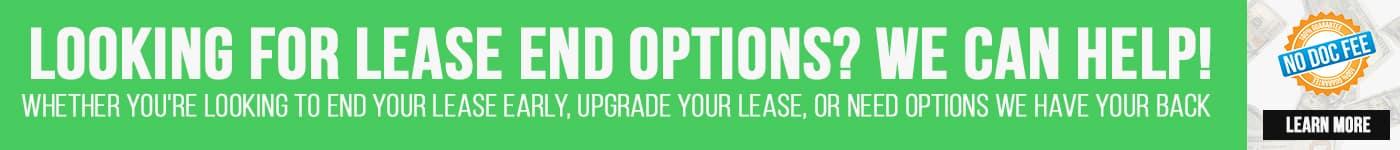 Lease Return Options!