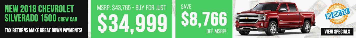 New Silverado Save $8,766 Now!