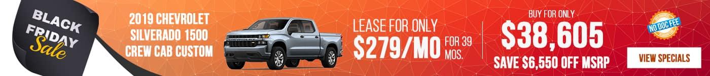 New Silverado Just $279/mo Now!