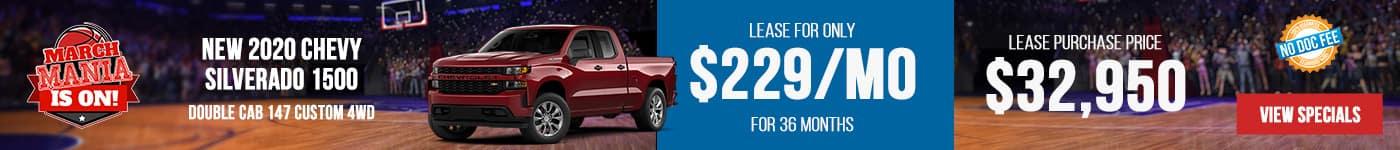 New Silverado Just $229/mo Now!