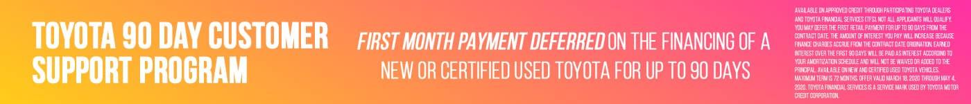 90 Day Customer Support Program
