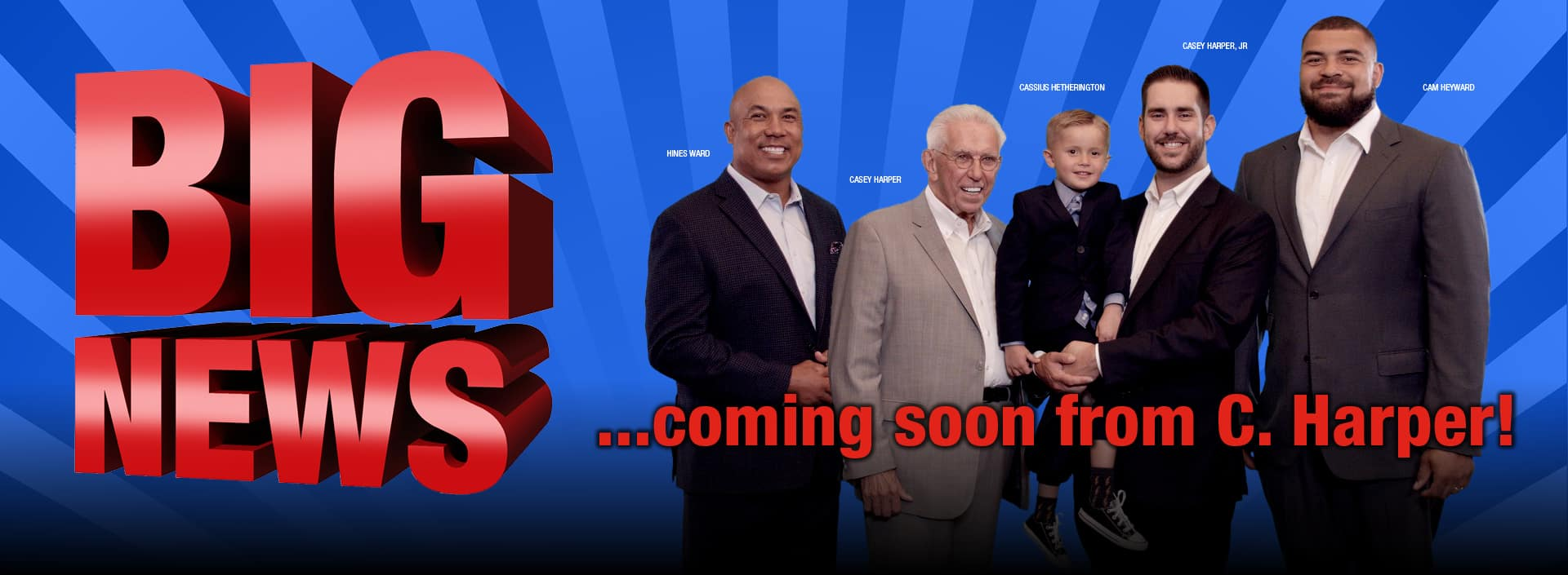 Coming Soon... Big News from C. Harper
