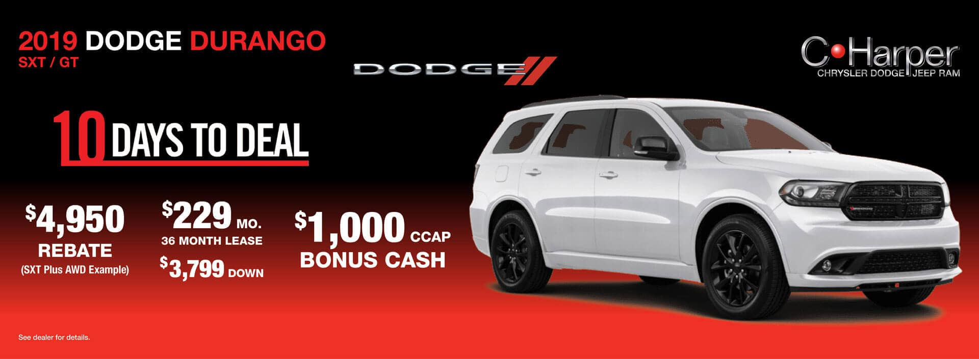 10 Days to Deal: Dodge Durango