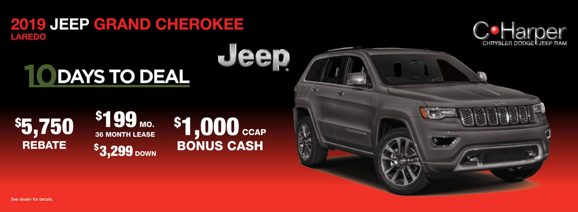 10 Days to Deal: Jeep Grand Cherokee