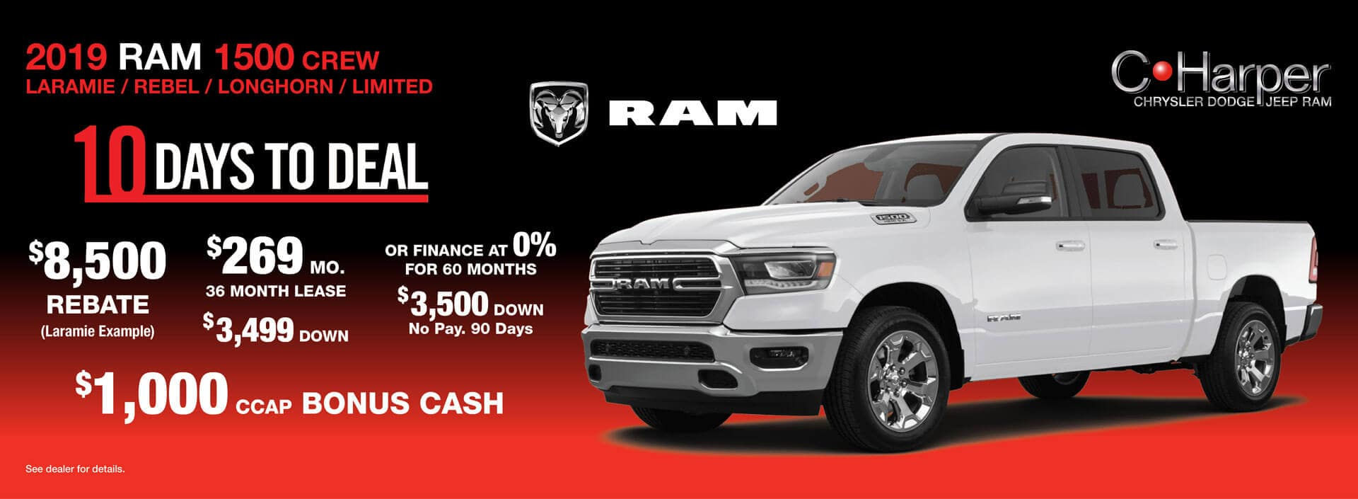 10 Days to Deal: Ram 1500
