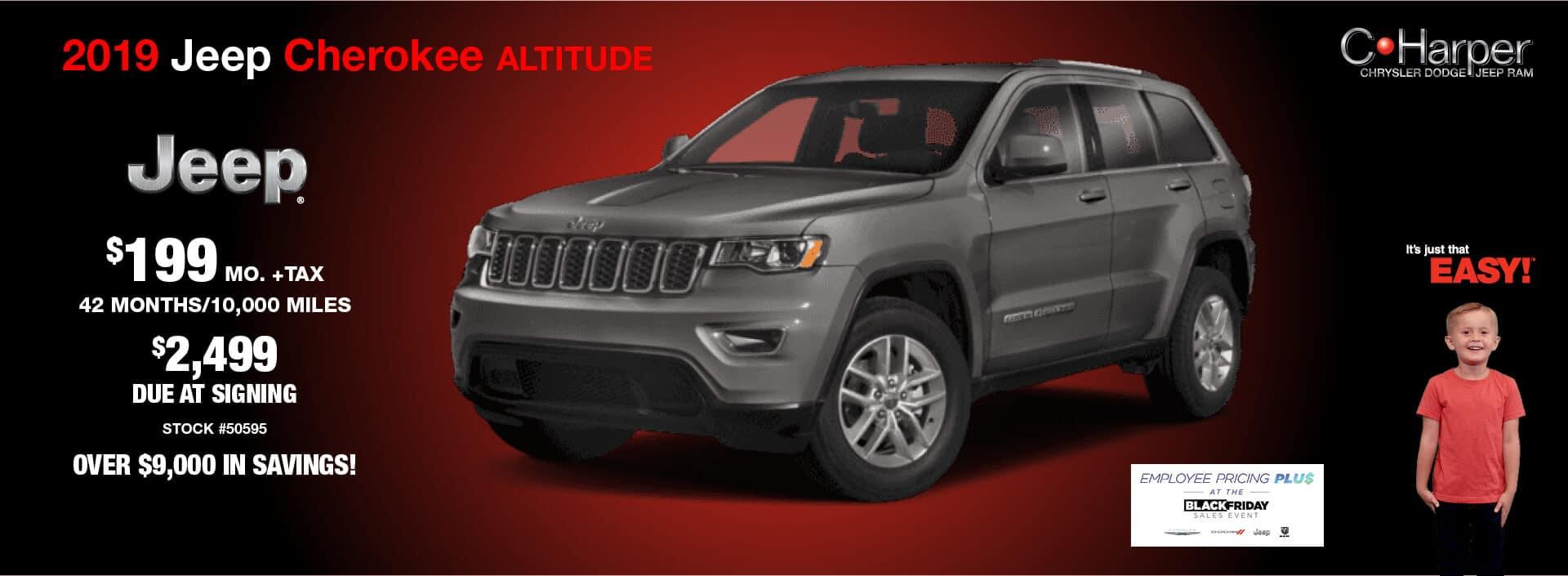2019 Jeep Cherokee (Altitude)