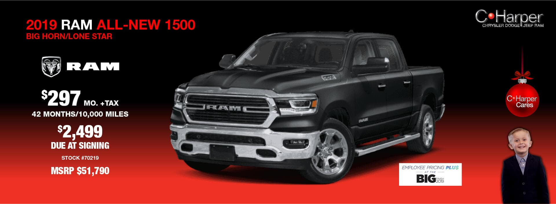 2019 Ram All-New 1500 (Big Horn/Lone Star)