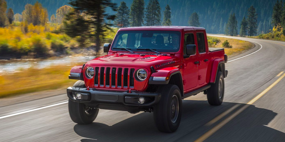 2020 Jeep Gladiator near South Hills