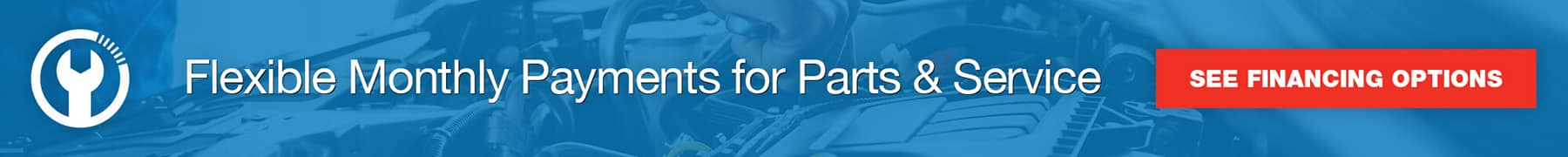 Financing for Service & Parts