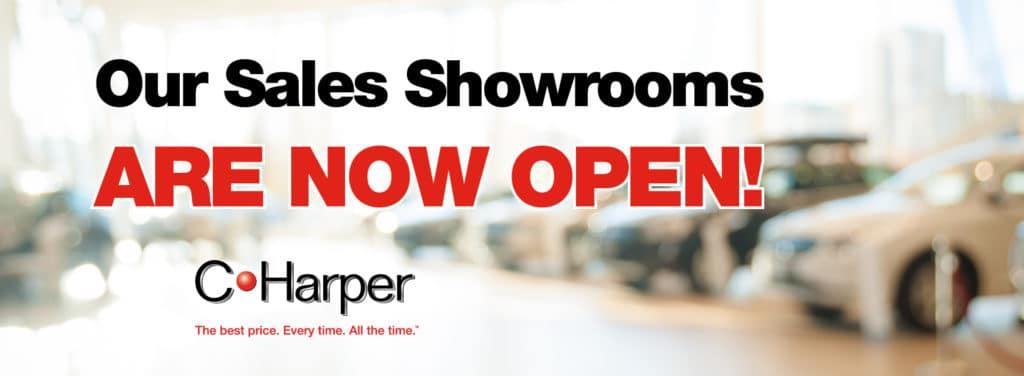 Sales Showroom Now Open