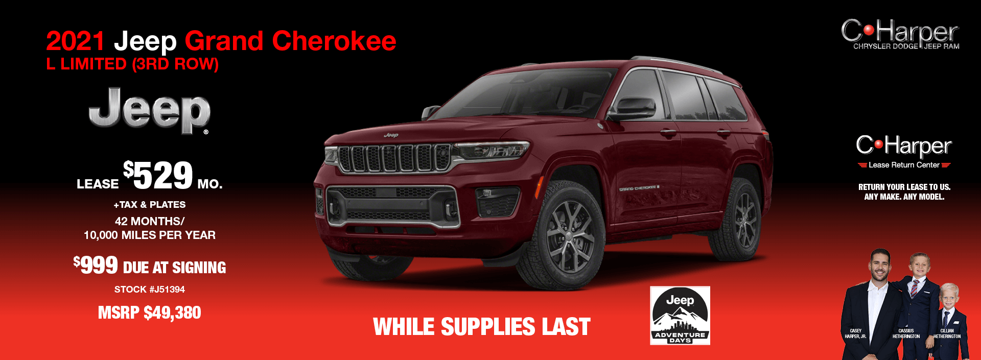 2021 Jeep Grand Cherokee L Limited (3rd Row)