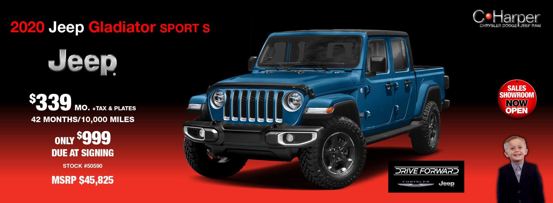 2020 Jeep Gladiator Sport (S)