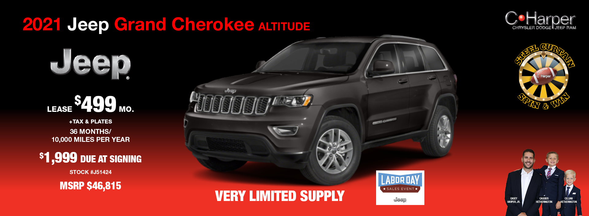 2021 Jeep Grand Cherokee Altitude