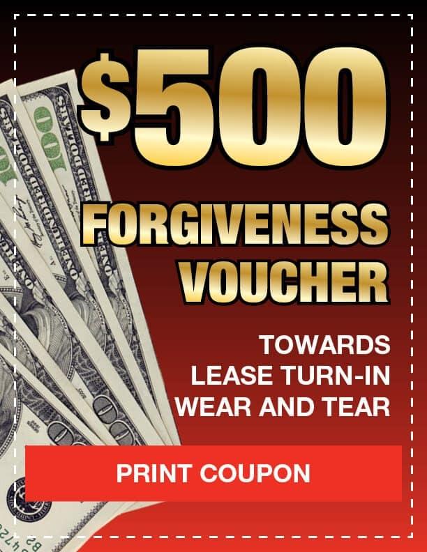 $500 Forgiveness Voucher